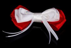 Free Red-white Bow Stock Photos - 35145523