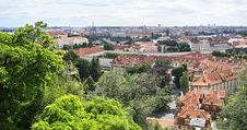 Free Cityscape In Prague. Stock Image - 35145841