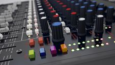 Free Audio Mixer Stock Photography - 35146322