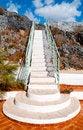 Free Closeup White Staircase Royalty Free Stock Photos - 35156878