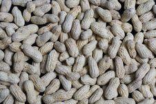 Free Peanuts On Black Stock Photo - 35155790