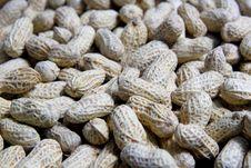 Free Peanuts On Black Stock Images - 35156674