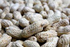 Free Peanuts On Black Stock Photo - 35157170