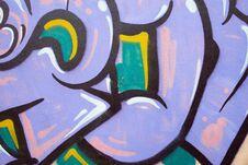 Free Graffiti Wall Royalty Free Stock Photos - 35157578