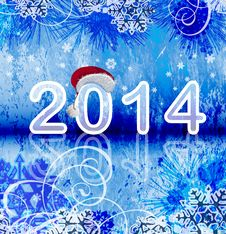 Free 2014 - New Year Background Royalty Free Stock Photo - 35158025