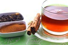 Free Tea And Cinnamon Stock Photos - 35158343