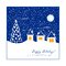 Free Winter Greeting Card Royalty Free Stock Images - 35155969