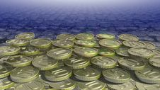 Free Shiny Coin Stock Photos - 35165813