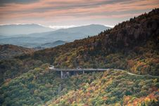 Free Linn Cove Viaduct Stock Image - 35165881