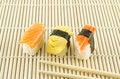 Free Fresh Sushi Traditional Japanese Food Royalty Free Stock Photo - 35179505
