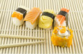 Free Fresh Sushi Traditional Japanese Food Stock Photo - 35179830