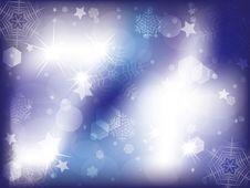 Free Blue Christmas Background Stock Photos - 35175213