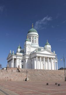 Free Cathedral In Helsinki. Royalty Free Stock Photography - 35175437