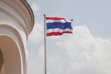 Free Flag Of Thailand Stock Photography - 35178172