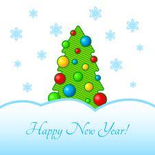 Free Christmas Tree Royalty Free Stock Photo - 35178825
