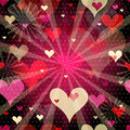 Free Seamless Valentine Pattern Stock Photo - 35180020