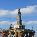 Free Semi Submersible Drilling Rig Stock Photos - 35188753