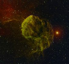 Free The Jellyfish Nebula Stock Image - 35185241