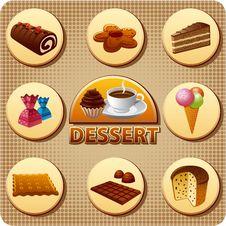 Free Dessert Menu Royalty Free Stock Photos - 35185998