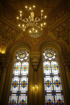 Free Synagogue Interior Stock Image - 35188031