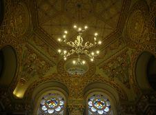 Free Synagogue Interior Royalty Free Stock Image - 35188126