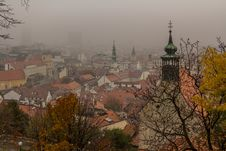 Free Bratislava Misty Towers Royalty Free Stock Photo - 35189625