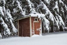 Free The Outhouse Royalty Free Stock Photo - 35189685
