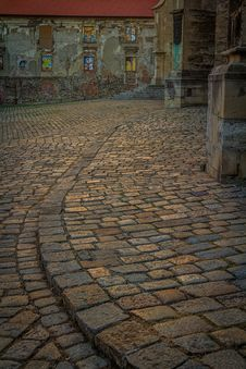 Free Cobbles Last Light Royalty Free Stock Photo - 35189765