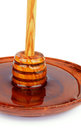 Free Honey And Dipper Stock Photo - 35198880