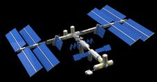 Free Satellite Space Station Royalty Free Stock Photography - 35192277
