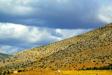 Free Landscape In The Outskirts Of Athens Suburb Royalty Free Stock Photo - 35195575