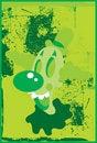 Free Crazy Clown Green Acid Royalty Free Stock Image - 3524106