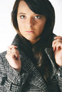 Free Girl In A Jacket Royalty Free Stock Photos - 3529838