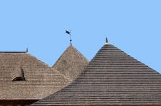 Free Hotin Castel S Roofs Stock Photography - 3520172