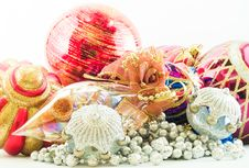 Free Christmas Baubles Stock Image - 3520521