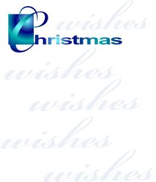 Free Christmas Wishes Design Stock Image - 3521131