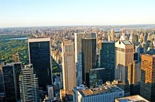 Free Sunset In Manhattan Royalty Free Stock Images - 3521559