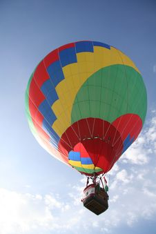 Free Colored Balloon Fly Up Royalty Free Stock Images - 3521989