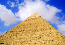 Free Pyramid Royalty Free Stock Image - 3522016