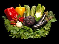 Free Colorful Vegetables Stock Photo - 3522770
