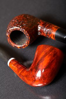 Free Two Smoking Pipes Stock Photography - 3523202