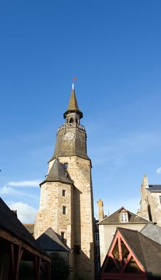 Free Clock Tower In Brittany Royalty Free Stock Image - 3523366