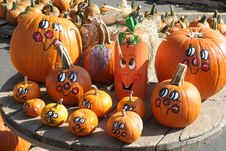 Free Pumpkin Faces Stock Photos - 3523513
