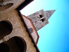 Church Towards The Sky Stock Image