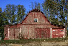 Rural Barn Tennessee Stock Images