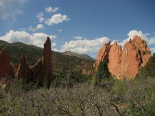 Free Garden Of The Gods Stock Photo - 3524580