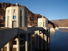 Free Hoover Dam Stock Photography - 3525282