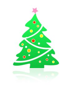 Free Christmas Tree Illustration Royalty Free Stock Photos - 3525748