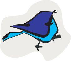 Free A Silhouette Of Bird Stock Photos - 3525973