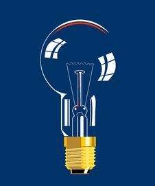 Free Light Bulb Icon Royalty Free Stock Photo - 3526055